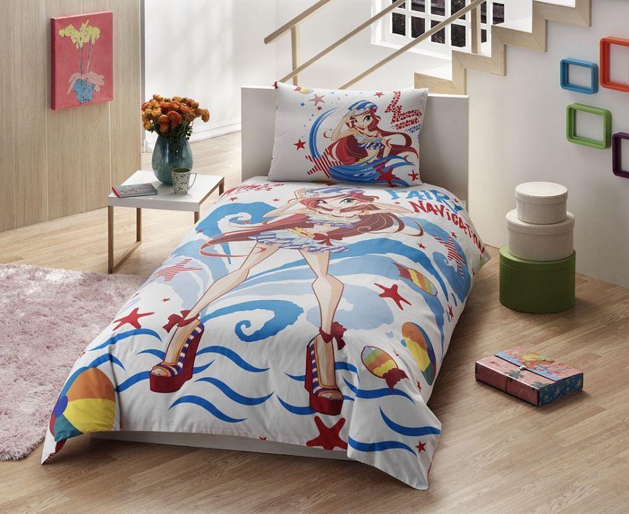 TAC Ranforce детский (3-12)/Disney 1,5сп Winx Bloom Ocean раскраски эгмонт классические персонажи disney рно5 1 1605 раскрась наклей и отгадай 5 в 1