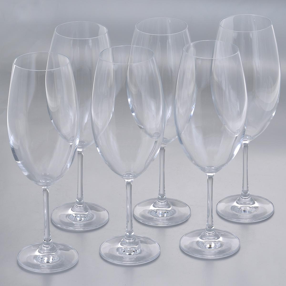 "Набор бокалов для воды Crystalite Bohemia ""Барбара"", 630 мл, 6 шт"