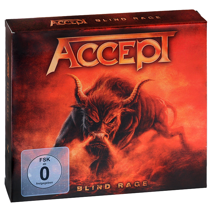 Accept Accept. Blind Rage. Limited Edition (CD + Blu-ray) limit switches limit switch