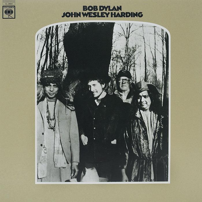 Боб Дилан Bob Dylan. John Wesley Harding (LP) боб дилан левон хелм робби робертсон гарт хадсон dylan bob