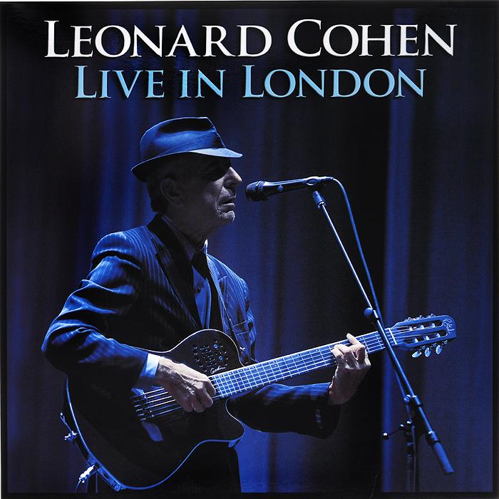Леонард Коэн Leonard Cohen. Live In London (3 LP)