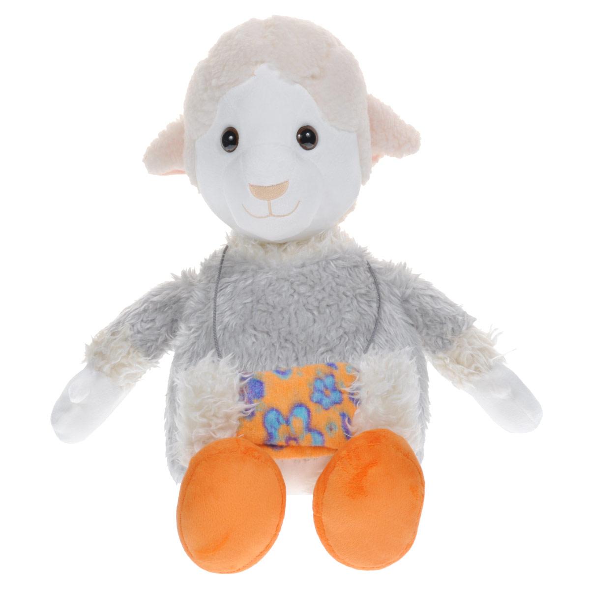 Мягкая игрушка Fancy Овечка Люси, 63 см fancy мягкая игрушка собака эля 14 5 см