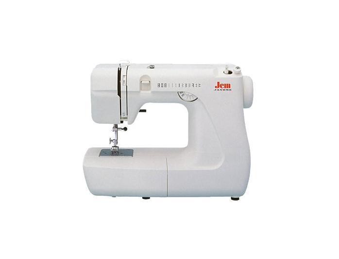 Janome Jem швейная машинаJemJanome Jem - это миниатюрная швейная машина, которая идеально подойдет для начинающих любителей и профессиональных швей, а также станет незаменимой при пошиве детских вещей, праздничных нарядов, вечерних платьев и даже мягких игрушек. В машине использован классический вертикальный качающийся оверлок, а также предусмотрена подсветка рабочей поверхности. Швейная машина Janome Jem оснащена рукавной платформой, что позволяет прошивать на ней различные узкие изделия. Для хранения машину можно укладывать в мягкий чехол, которым она укомплектована. Эта швейная машина достаточно легкая и компактная, поэтому прекрасно подойдет для детей и подростков, желающих овладеть швейным мастерством. В базовую комплектацию включены лапка для выметывания петли, есть вспарыватель, набор игл, кисточка и прочие аксессуары, необходимые для создания идеальных вещей.