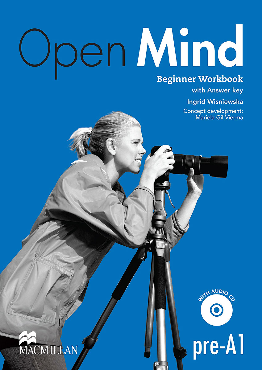 Фото - Open Mind: Level pre-A1: Beginner Workbook (+ CD) open mind advanced workbook with answer key level c1 cd