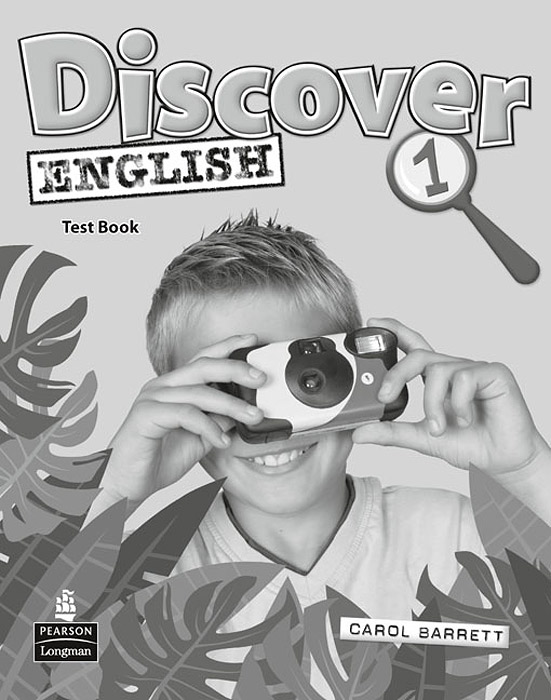 Discover English: Level 1: Test Book english with crosswords 3 dvdrom