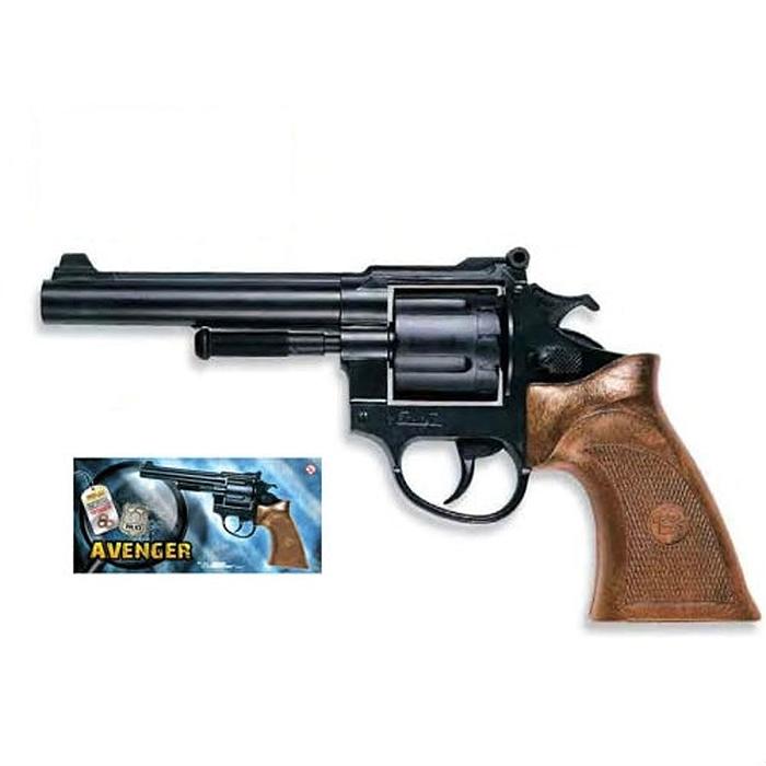 Пистолет Avenger Polizei пистолет edison giocattoli cobra polizei 12 8 см