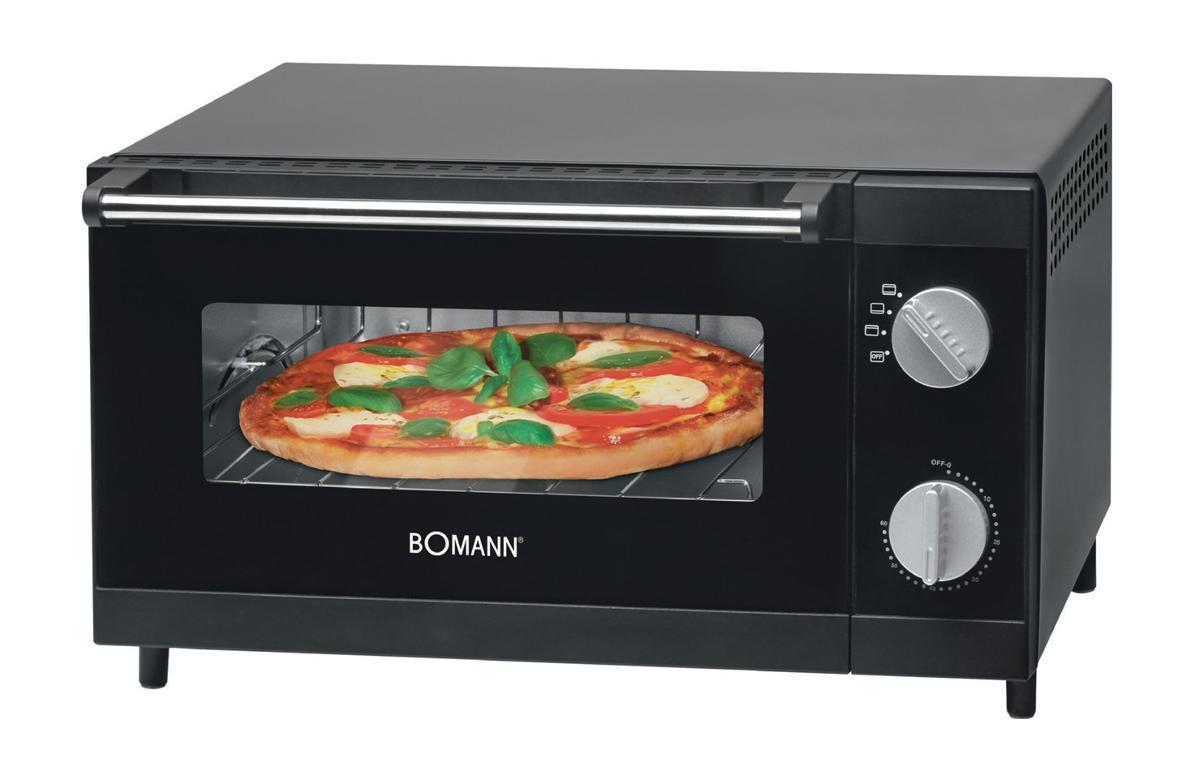 Bomann MPO 2246 CB минипечь мульти пиццаMPO 2246 CBОт производителя Минипечь Bomann MPO 2246 CB идеально подходит для приготовления пиццы. Благодаря нижнему и верхнему нагревательным элементам, которые могут работать одновременно, обеспечивается равномерная температура выпечки по всему объему камеры. Доступно 3 режима нагрева: верхний, нижний и комбинированный.