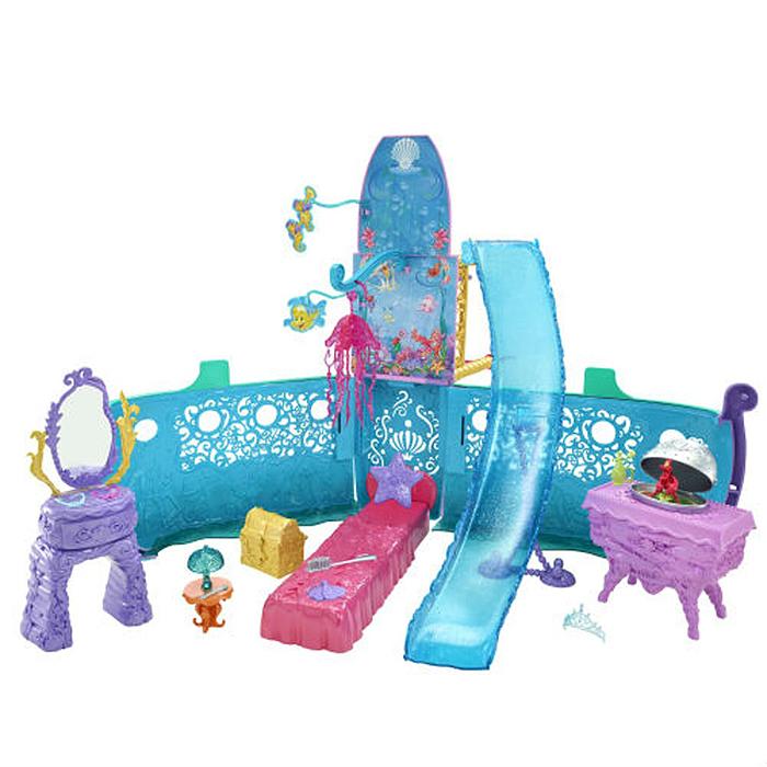 Disney Princess Игровой набор Волшебный корабль Ариэль + набор браслетов в ПОДАРОК disney кукла ариэль disney princess