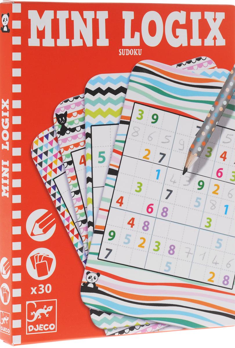 Djeco Обучающие карточки Судоку судоку для детей kodkod