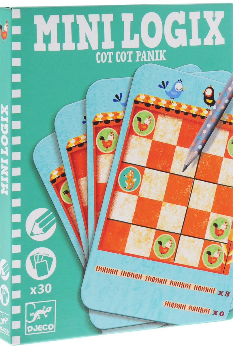 Djeco Обучающие карточки Кот-кот паник спортивный инвентарь djeco игра резиночка зайчик page 6