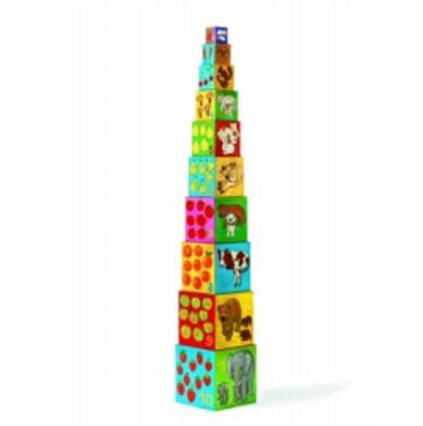 кубики Кубики Djeco Мои друзья