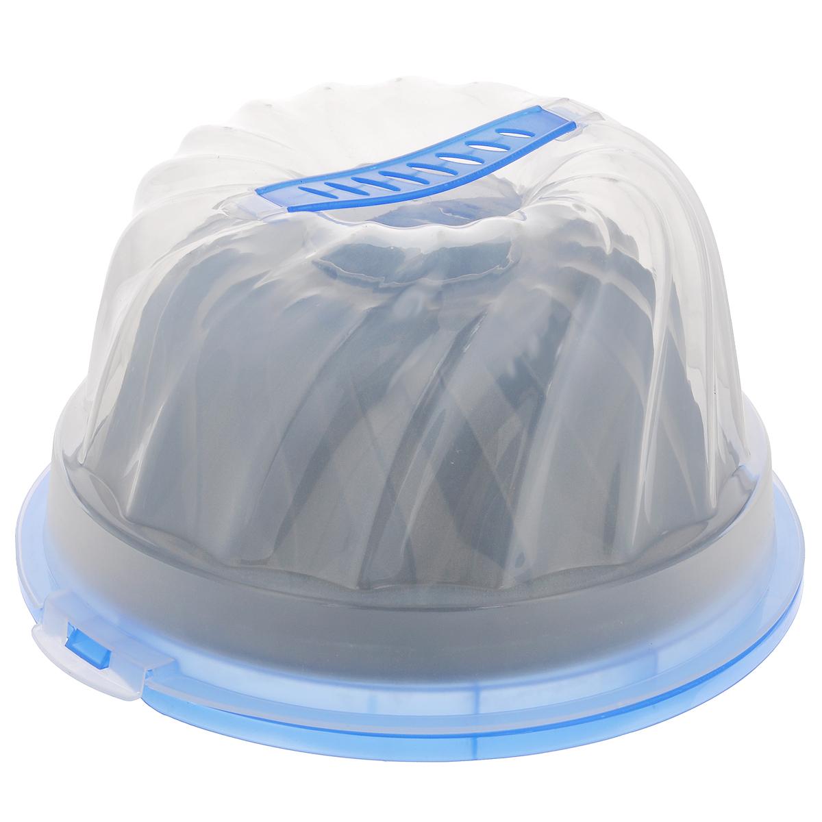Форма для пирога Mayer & Boch, с антипригарным покрытием, с контейнером, диаметр 25 см3913Форма для пирога Mayer & Boch изготовлена из высококачественной углеродистой стали с внутренним антипригарным покрытием. Такое покрытие препятствует пригоранию, обеспечивает легкую очистку изделия и исключает необходимость использования большого количества масла, что способствует приготовлению здоровой пищи с пониженной калорийностью. Стенки изделия рельефные, что придает выпечке аппетитный внешний вид. Выпечка легко извлекается из противня. Форма предназначена для приготовления кексов и пирогов.В комплекте - пластиковый контейнер с крышкой, который позволит взять приготовленную выпечку с собой на пикник. Контейнер оснащен удобной ручкой. С такой формой вы всегда сможете порадовать своих близких оригинальной выпечкой.Форма подходит для использования в духовом шкафу. Нельзя мыть в посудомоечной машине.