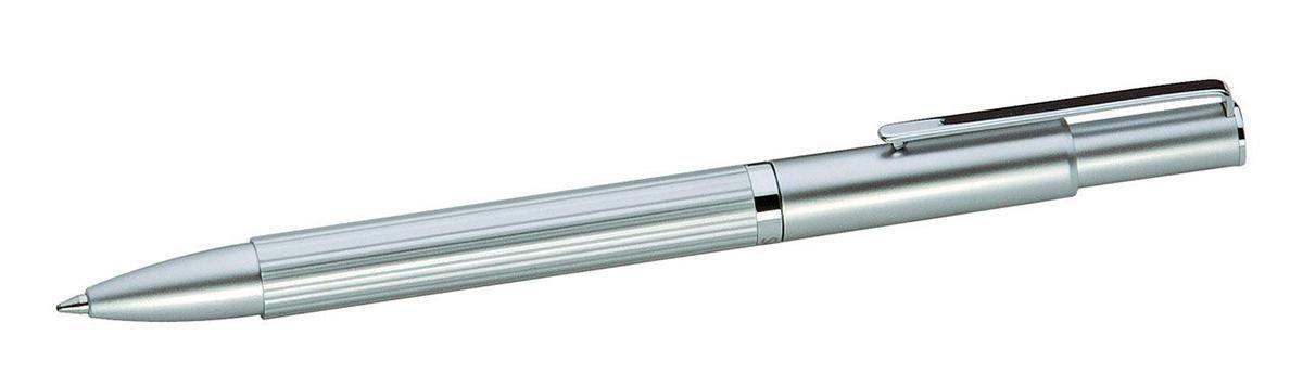 Шариковая ручка Scrinova Canelli хром./черн. в футляре80416
