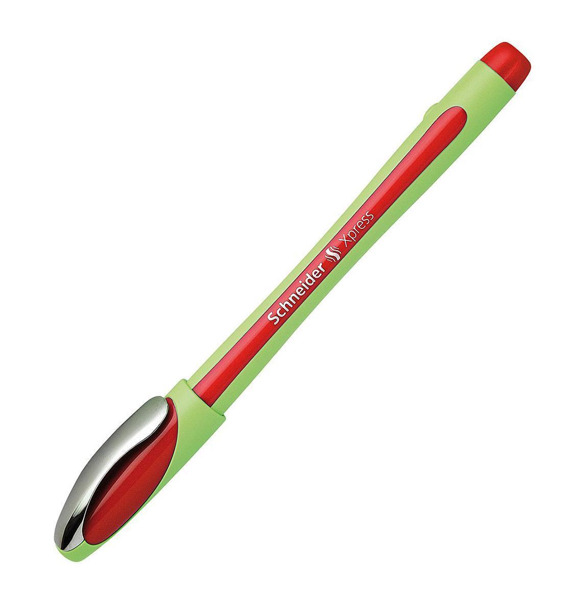 Ручка капиллярная XPRESS; 0,8 мм, красный цвет чернил.