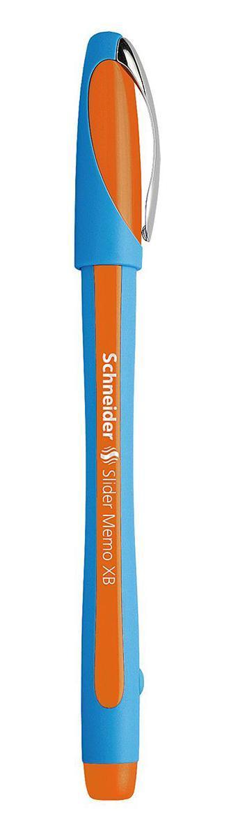 Ручка шариковая Slider Memo, XB - 1,0 мм, оранжевый цвет чернилS502/06 S502-01/6