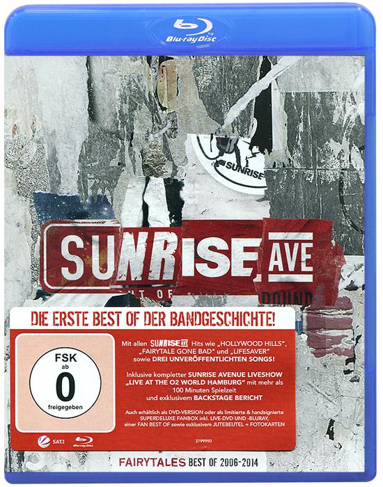 Sunrise Avenue Fairytales. Best Of 2006 - 2014(CD + Blu-ray) подкрылки ford transit 2006 2014 задний левый