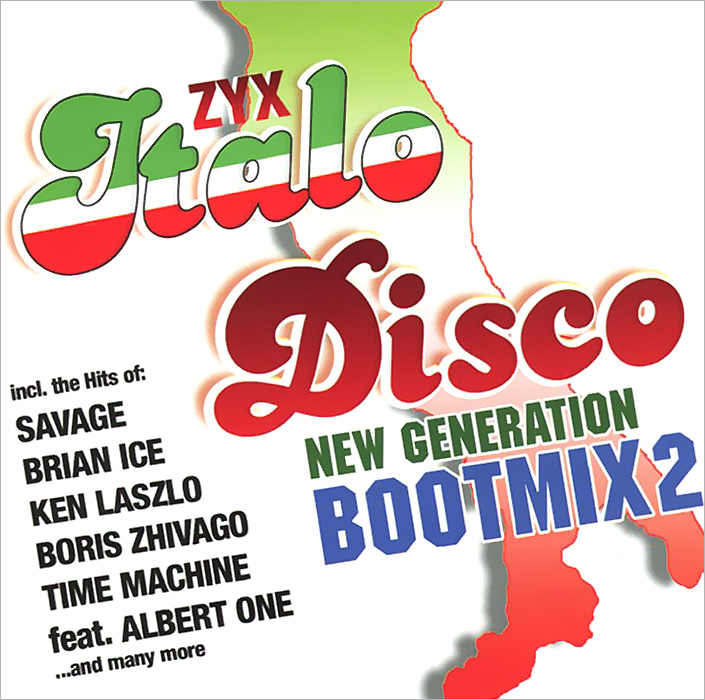 Italo Disco New Generation Bootmix 2 (2 CD) roxanne джо локвуд cyber people hypnosis tommy candy belle сюзанна милс italo disco collection 16 3 cd page 9