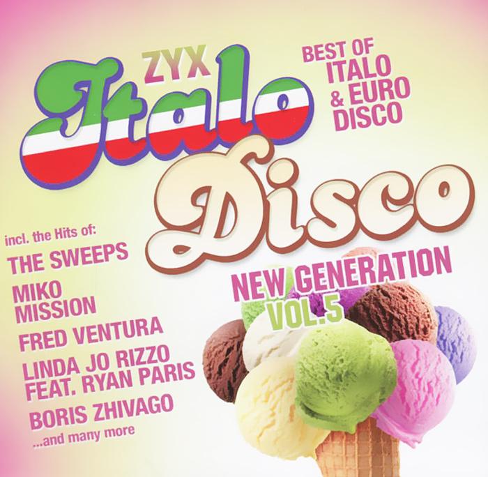 Italo Disco New Generation. Volume 5 (2 CD) creepy comics volume 2 page 5