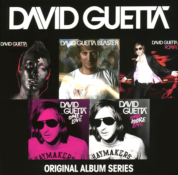 David Guetta. Original Album Series (5 CD)