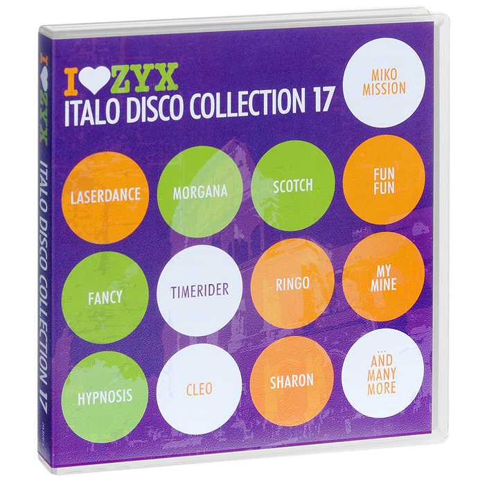 Italo Disco Collection 17 (3 CD) михаель бедфорд клифф тернер майк мэрин пэтти райан solid strangers джо локвуд italo disco collection 3 3 cd
