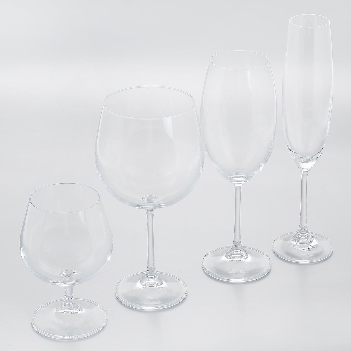 Дегустационный набор Crystalite Bohemia, 4 предмета99999/9/00000/148Набор Crystalite Bohemia состоит из четырех бокалов, выполненных извысококачественного выдувного прозрачного стекла, и предназначен для дегустации напитков. Бокалы можно использовать для дегустации белого вина, красного вина, шампанского и бренди. Они излучают приятный блеск и издают мелодичный звон. Бокалы сочетают в себе элегантный дизайн и функциональность. Благодаря такому набору пить напитки будет еще вкуснее.Набор бокалов Crystalite Bohemia станет хорошим подарком к любому случаю. Не использовать в посудомоечной машине и микроволновой печи.