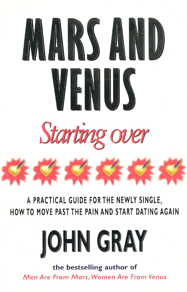 Mars And Venus Starting Over starting over