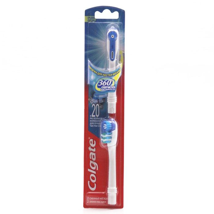 Colgate Комплект сменных насадок к зубной щетке, питаемой от батарей 360 Супер чистота все полости ртаFCN10036Комплект сменных насадок Colgate для вашей зубной щетки. Полирующие щетинки способствуют эффективному удалению зубного налета и бактерий. Удобная и эргономичная ручка обеспечит комфортное использование каждый день.
