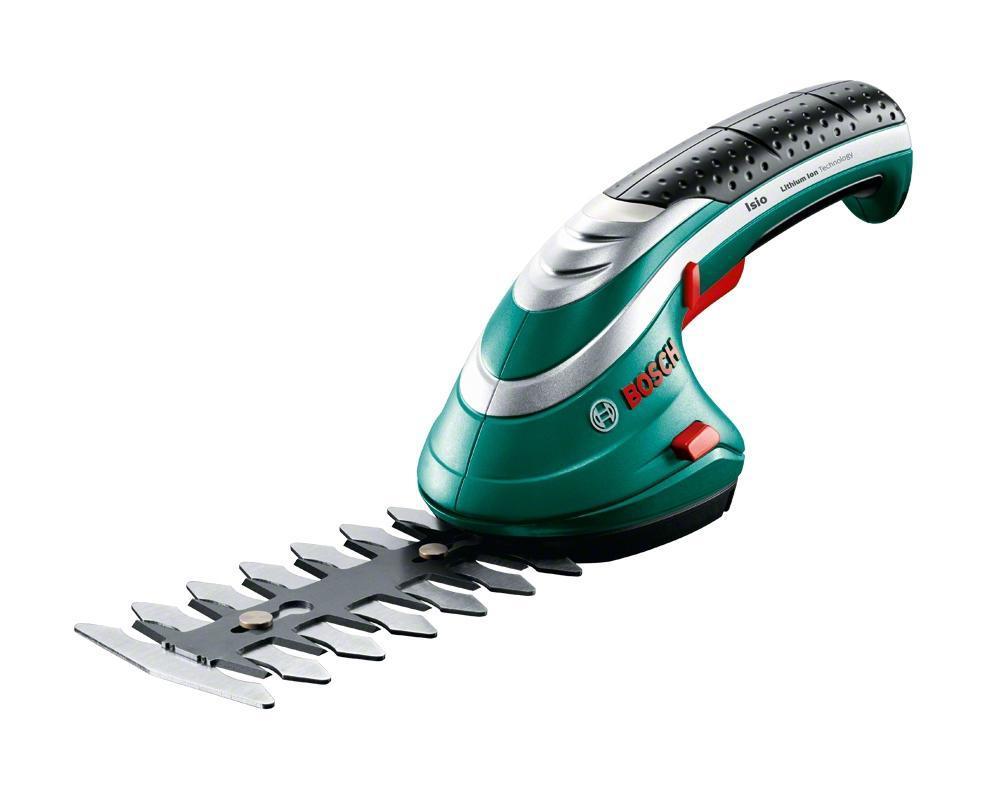Аккумуляторные ножницы для травы Bosch ISIO 3 + насадка распылитель 060083310G