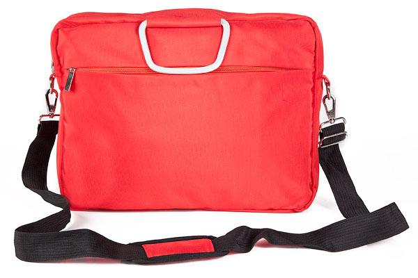Сумка Hatber Business Lady, с отделением для ноутбука, цвет: красныйNSn_00331Стильная сумка Hatber Business Lady подойдет для современных и мобильных людей. Сумка выполнена из нейлона и имеет одно вместительное основное отделение на застежке-молнии, внутри которого расположено отделение для ноутбука, фиксирующееся на ремне-липучке, а также два небольших кармана для разных мелочей и аксессуаров. На внешней стороне сумки имеется дополнительное отделение на молнии.На обратной стороне сумки имеется отделение, которое закрывается на застежку-молнию и подойдет для хранения и переноски разнообразных документов. Сумка оснащена двумя удобными ручками и съемным плечевым ремнем регулируемой длины.