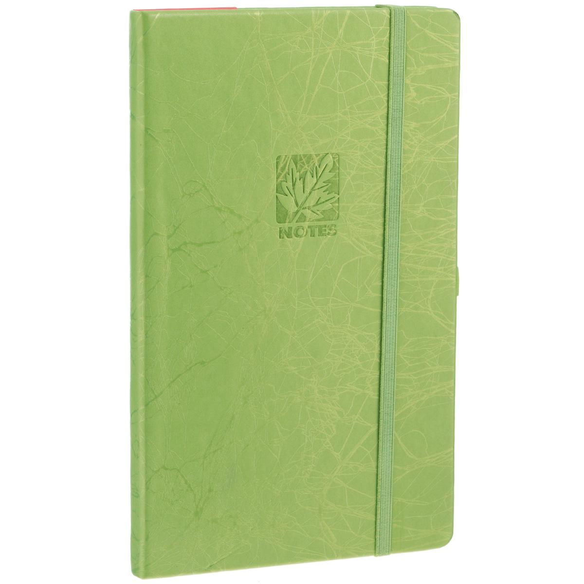 Записная книжка Erich Krause Scribble, цвет: оливковый, 96 листов mind ulness утренние страницы лимон скругленные углы