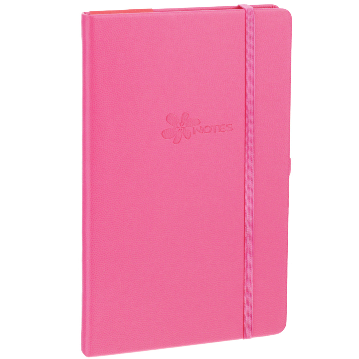 "Записная книжка Erich Krause ""Flower"", цвет: розовый, 96 листов"