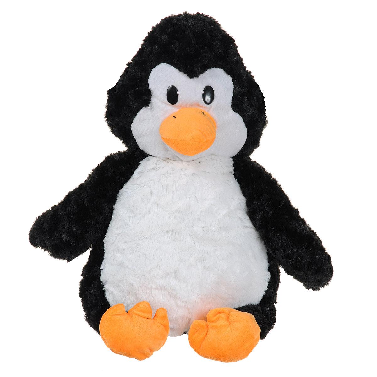 Мягкая игрушка-подушка Bradex Пингвинчик, цвет: черный, белый, оранжевый подушка ортопедическая с функцией памяти bradex здоровый сон