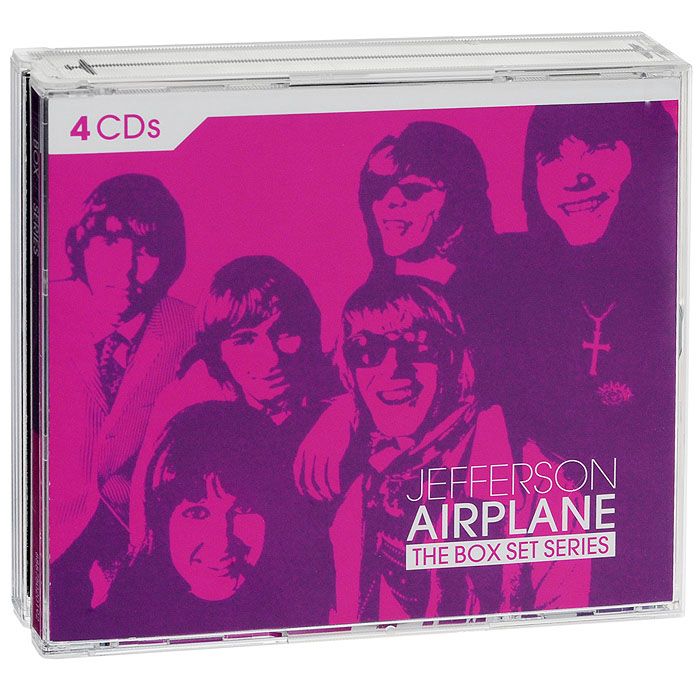Jefferson Airplane Jefferson Airplane. The Box Set Series (4 CD) jefferson starship the definitive concert