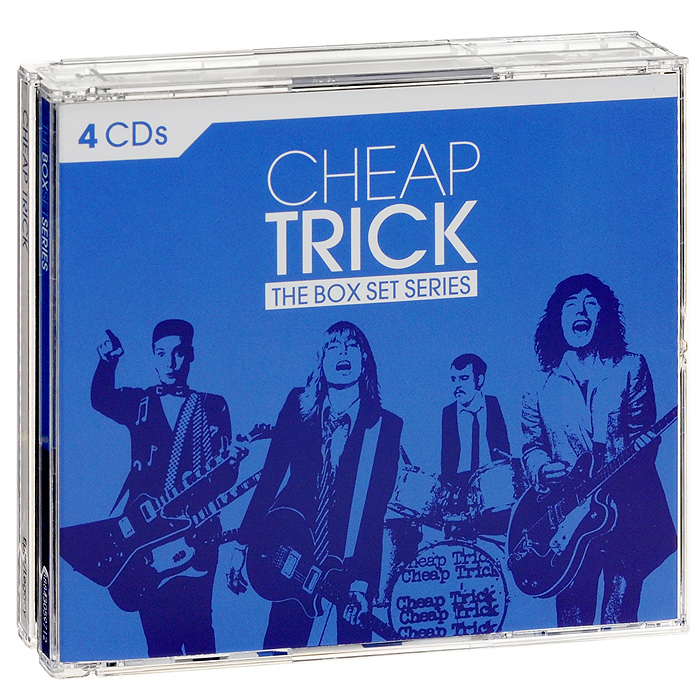 Cheap Trick Cheap Trick. The Box Set Series (4 CD) wooden animal pattern hand cranked jewelry music box