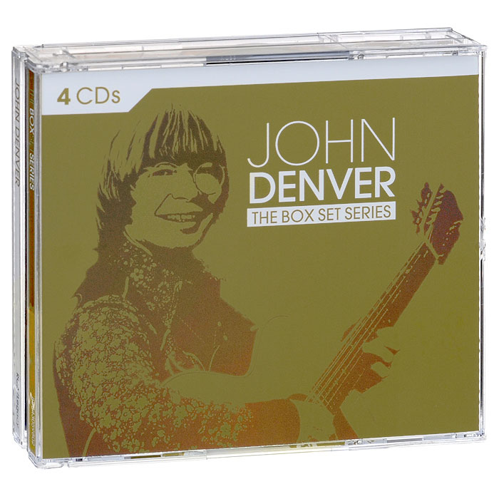 Фото - Джон Дэнвер John Denver. The Box Set Series (4 CD) wooden animal pattern hand cranked jewelry music box