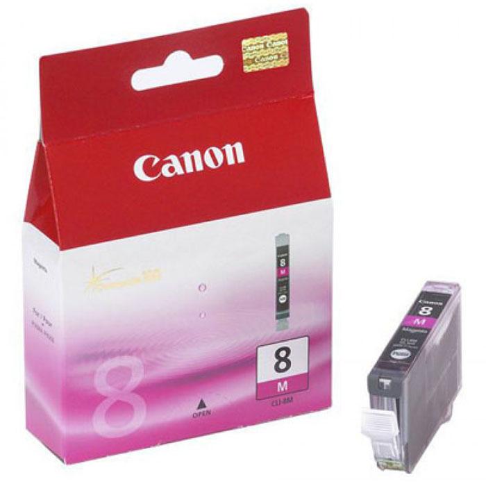 Canon CLI-8, Magenta картридж для струйных МФУ/принтеров картридж canon cli 8c для ip4200 ip5200 0621b024