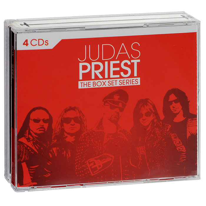 Judas Priest Judas Priest. The Box Set Series (4 CD) wooden animal pattern hand cranked jewelry music box