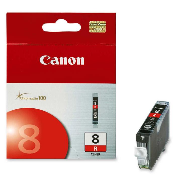 Canon CLI-8, Red картридж для струйных фотопринтеров0626B001Сменный картридж с чернилами Canon CLI-8 Photo для струйных фотопринтеров Canon PIXMA.Тип чернил: водорастворимые