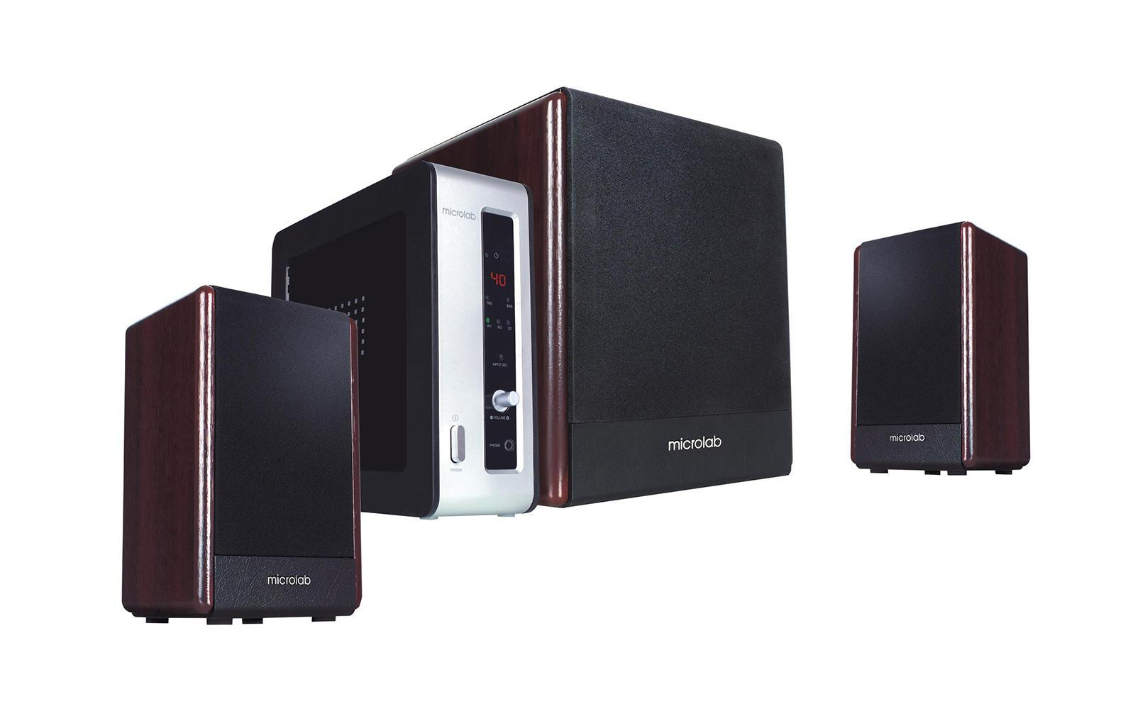 Фото - Microlab FC-530, Dark Wood акустическая система meike fc 100 for nikon canon fc 100 macro ring flash light nikon d7100 d7000 d5200 d5100 d5000 d3200 d310