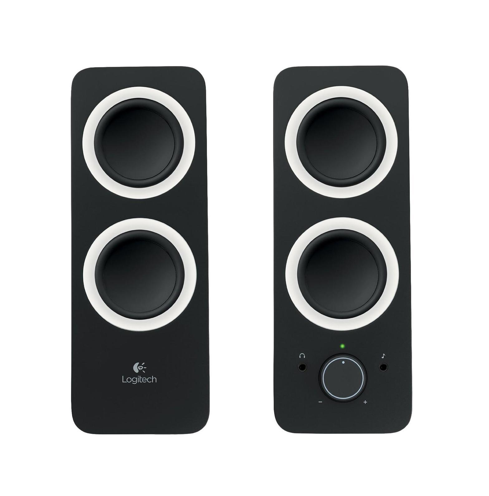 Logitech Z200, Midnight Black (980-000810) колонки колонка logitech z523 light speaker system 980 000367 980 000321