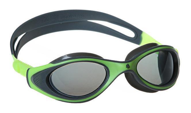 Очки для плавания MadWave Junior Flame, цвет: зеленый, серый сланцы madwave madwave ma991akffh77