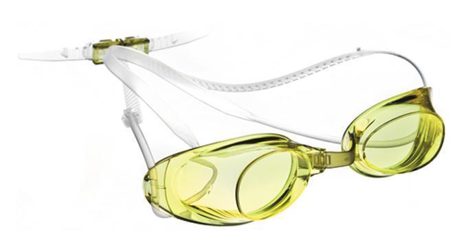 Очки для плавания MadWave Liquid Racing, цвет: жёлтый шапочка для плавания madwave madwave ma991dkiwh88