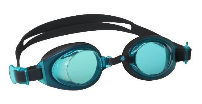 Очки для плавания MadWave Simpler II Junior, цвет: серый, голубой очки для плавания madwave simpler ii цвет красный
