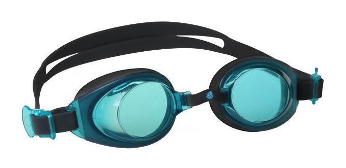Очки для плавания MadWave Simpler II, цвет: голубой очки для плавания madwave madwave ma991dubeg95