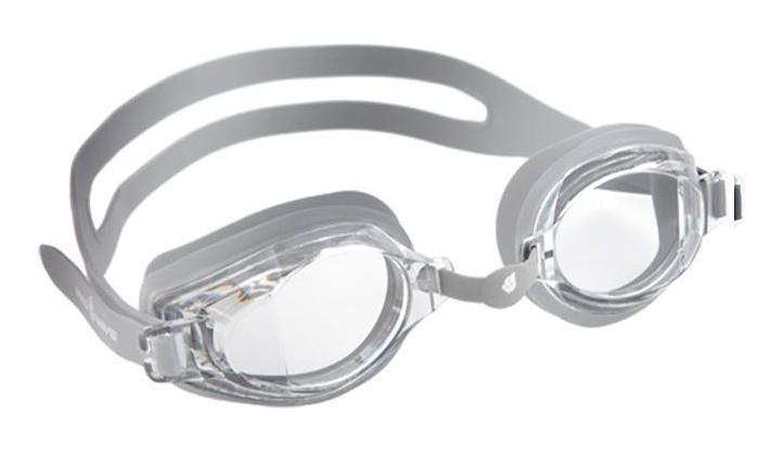 """Очки для плавания MadWave """"Stalker"""", цвет: серебристый"""