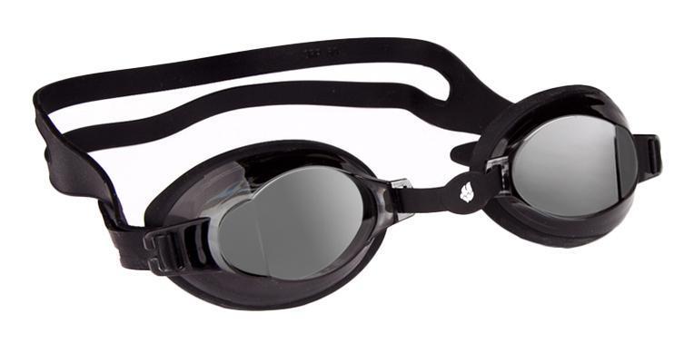 """Очки для плавания MadWave """"Stalker"""", цвет: черный"""