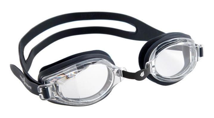 Очки для плавания MadWave Stalker, цвет: черный, серый очки для плавания madwave madwave ma991dubeg95
