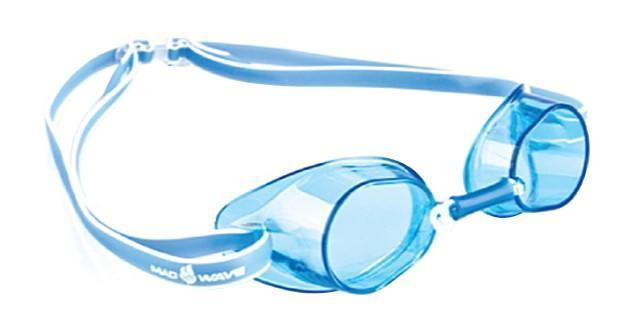 Очки для плавания стартовые MadWave Racer SW, цвет: синийM0455 03 0 03WКлассические стартовые очки MadWave Racer SW. Двойной силиконовый ремешок с затылочной клипсой для надёжной фиксации очков. Линзы из поликарбоната без обтюратора. Антизапотевающие стекла. Защита от ультрафиолетовых лучей. Настраиваемая индивидуально трубчатая переносица позволяет собрать очки под любой тип лица. Характеристики:Цвет: синий. Материал: поликарбонат, силикон. Размер наглазника: 6 см х 3,5 см. Изготовитель: Китай. Размер упаковки: 11 см х 9 см х 4 см.
