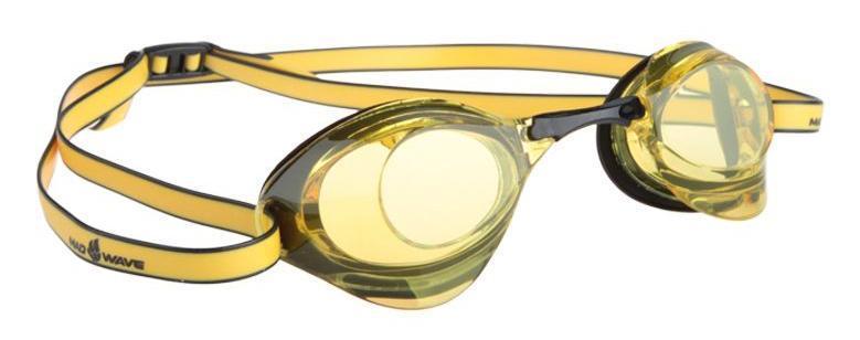 Очки для плавания стартовые MadWave Turbo Racer II, цвет: желтый, черныйM0458 08 0 06WОчки для плавания стартовые MadWave Turbo Racer II. Гидродинамическая форма линз для уменьшения сопротивления. Низкопрофильный силиконовый обтюратор для комфорта. Двойной силиконовый ремешок с затылочной клипсой для надёжной фиксации очков. 3 сменных переносицы для идеальной настройки. Антизапотевающие линзы из поликарбоната с защитой от ультрафиолетовых лучей. Предназначены для тренировок и стартов. Характеристики:Цвет: желтый, черный. Материал: поликарбонат, силикон. Размер наглазника: 6 см х 4 см. Изготовитель: Китай. Размер упаковки: 11 см х 9 см х 4 см.