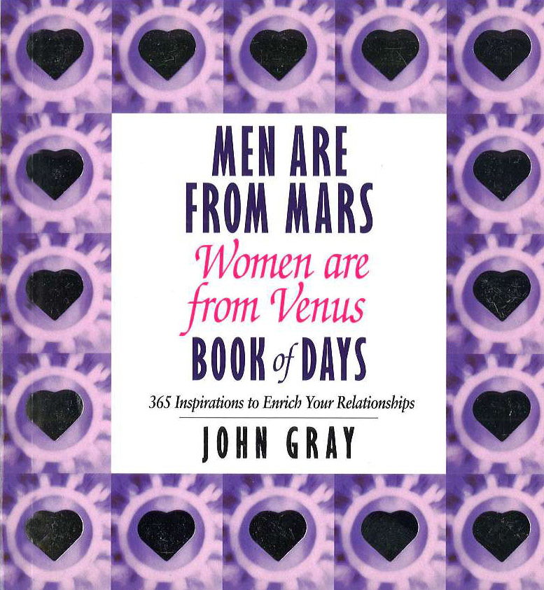 Men Are From Mars, Women Are From Venus Book Of Days review of genus cotugnia diamare from maharashtra